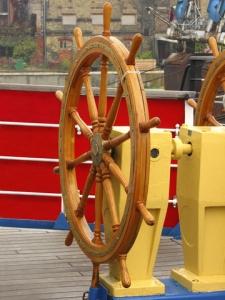 c/o dreamstime.com A two wheel helm