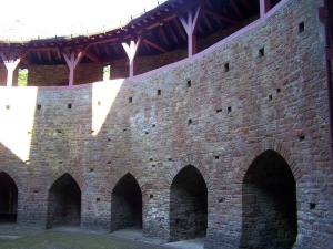 The Courtyard. The alcoves have seats
