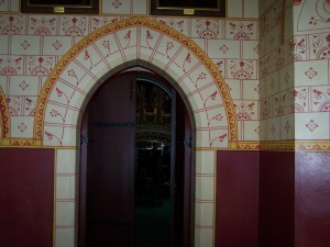 Doorway from the Banqueting Hall into the Drawing Room