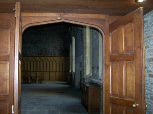 Banquetting Hall Caerphilly Castle