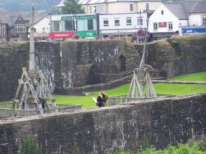 Caerphilly Castle Ballista