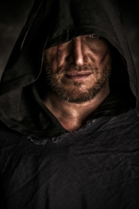 c/o dreamstime.com Is he a nice guy or a bad one? You'll have to read the trilogy to find out.